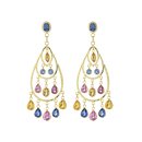 Earrings 18K Yellow Gold