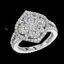 Ring 18K White Gold