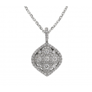 Pendant 18K White Gold