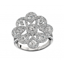 Ring 18K White Gold
