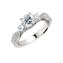 SEMI-MOUNTS ENGAGEMENT RING