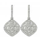 Earrings 18K White Gold