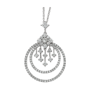 Necklace 18K White Gold